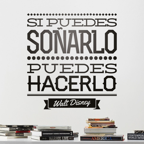 Wall Stickers: Si puedes soñarlo...