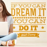 Wall Stickers: If you can dream it you can do it 2