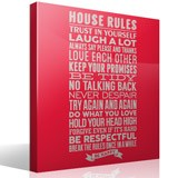 Wall Stickers: House Rules 3
