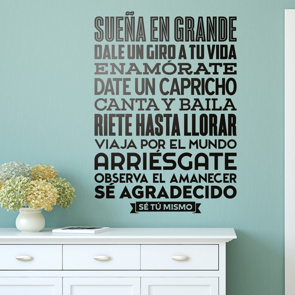 Wall Stickers: Se tú mismo