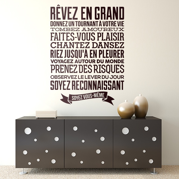 Wall Stickers: Soyez vous-même