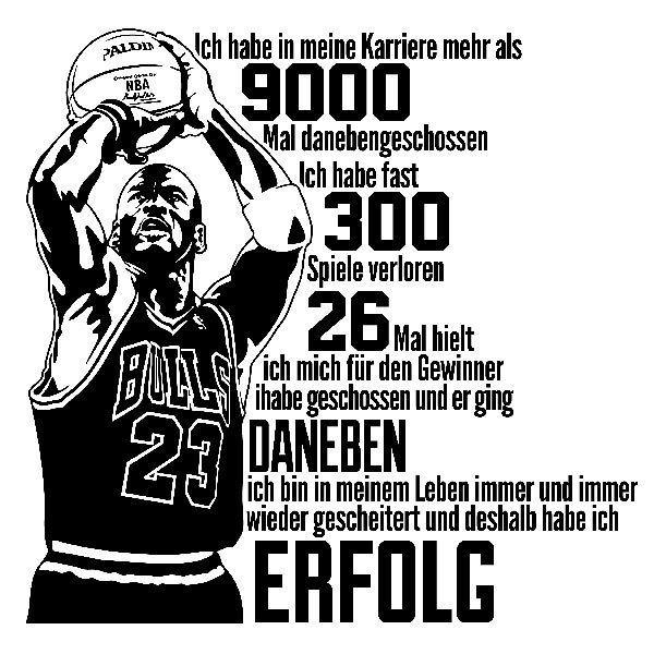 Wall Stickers: Der Erfolg Von Michael Jordan Part 74