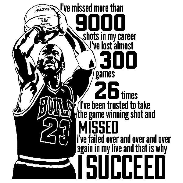 Wall Stickers: The success of Michael Jordan