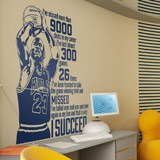 Wall Stickers: The success of Michael Jordan 2