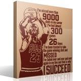 Wall Stickers: The success of Michael Jordan 3