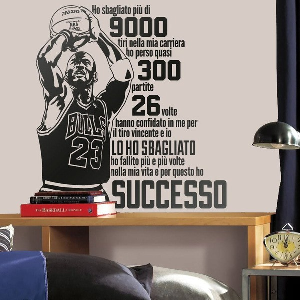 Wall Stickers: Successo Michael Jordan