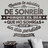 Wall Stickers: Nunca te olvides de sonreir 2