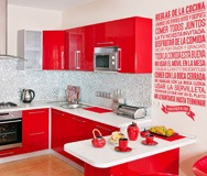 Wall Stickers: kitchen rules - Spanish 2