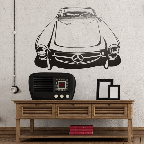 Wall Stickers: Classic car