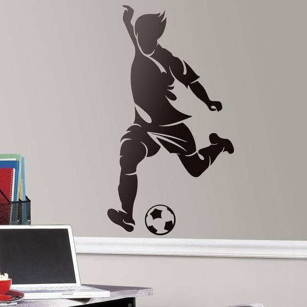 Wall Stickers: Football player