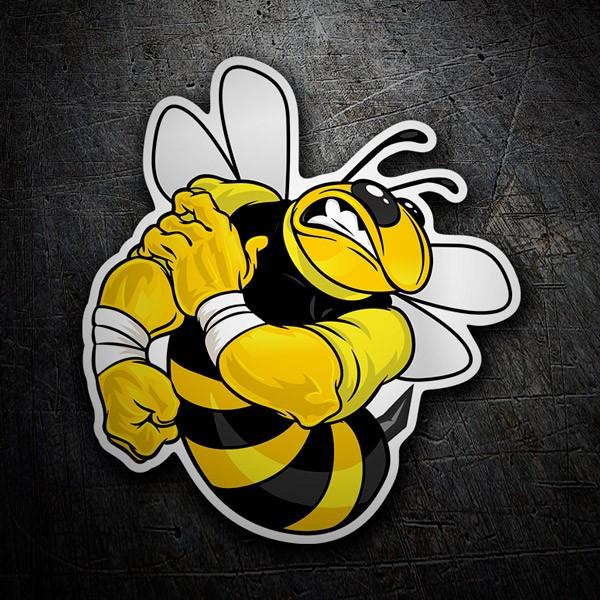 Car & Motorbike Stickers: Bee strong