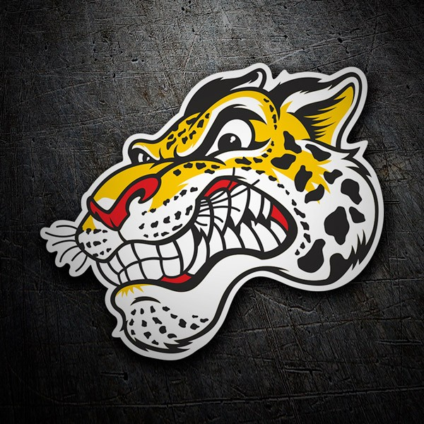 Car & Motorbike Stickers: Tiger