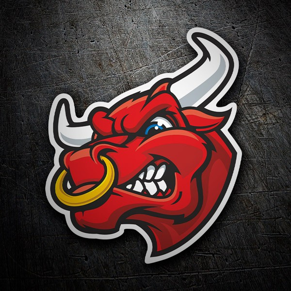 Car & Motorbike Stickers: Angry Bull