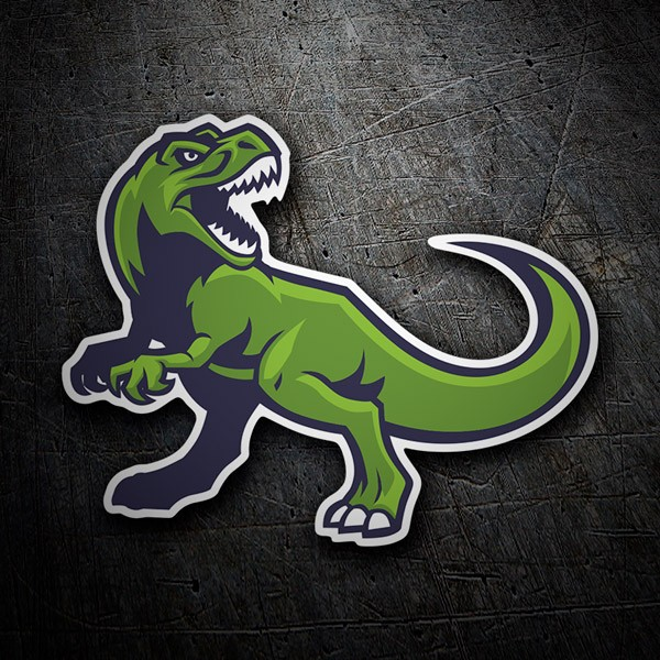 Car & Motorbike Stickers: Dinosaur Rex