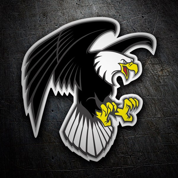 Car and Motorbike Stickers: Imperial Eagle