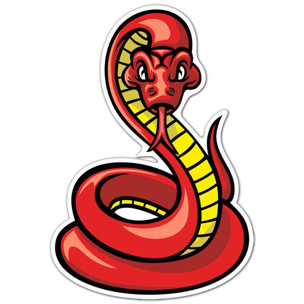 Car & Motorbike Stickers: Poisonous snake
