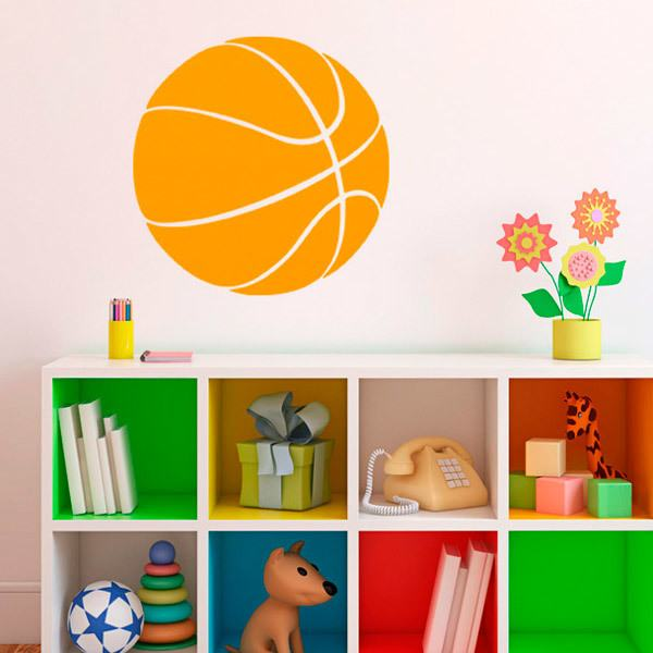 Wall Stickers: Basketball Ball