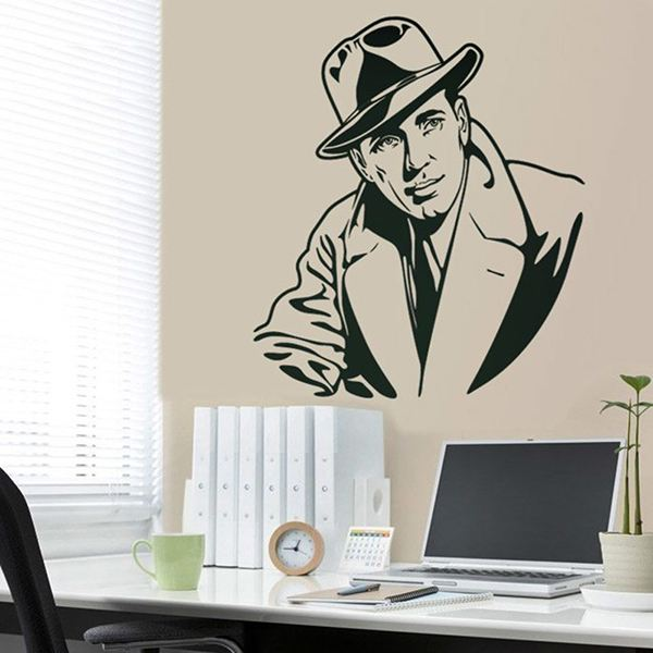 Wall Stickers: Humphrey Bogart