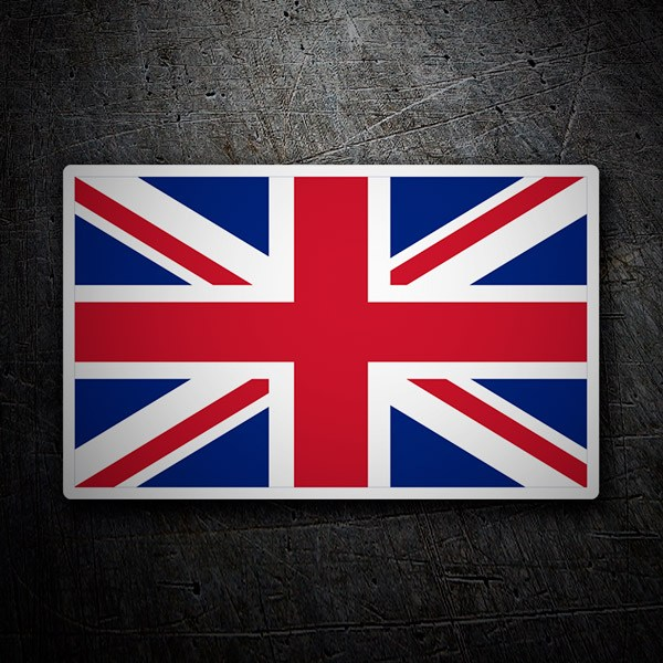 Car & Motorbike Stickers: United kingdom flag