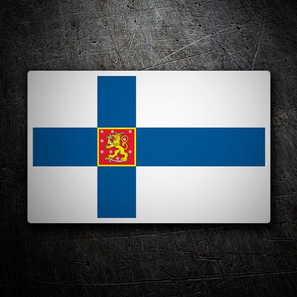 Car and Motorbike Stickers: Suomi