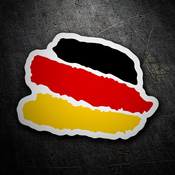 Car & Motorbike Stickers: Strokes Germany