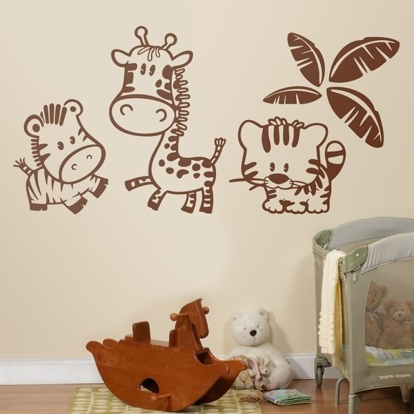 Stickers for Kids: Jungle animals 0