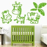 Stickers for Kids: Jungle animals 4