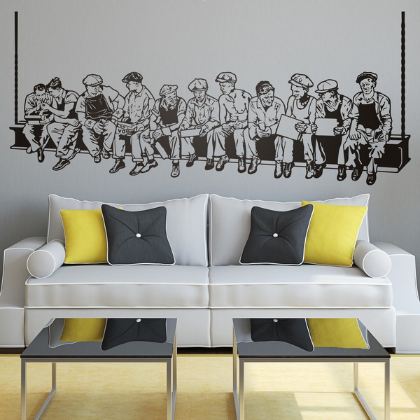 Wall Stickers: Lunch Workers