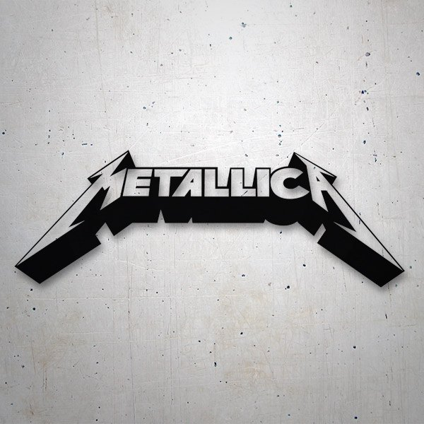 Car & Motorbike Stickers: Metallica 3D