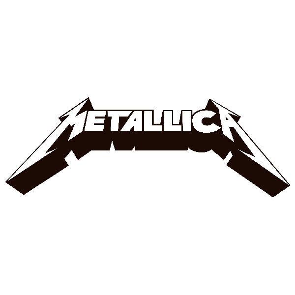 Sticker Metallica 3D