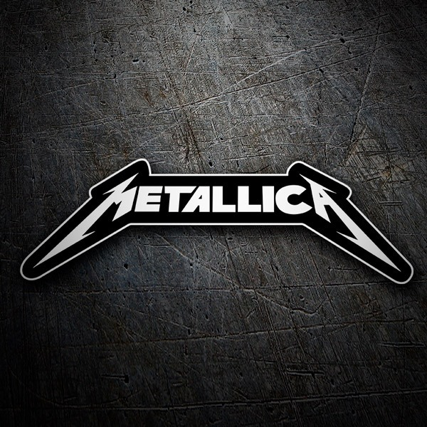 Car & Motorbike Stickers: Metallica heavy metal