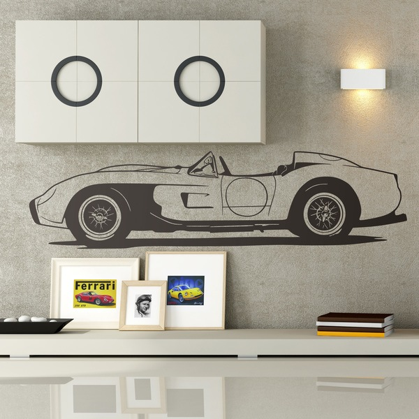 Wall Stickers: Ferrari Testa Rossa 1957