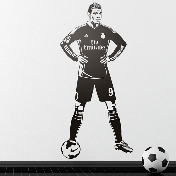 Wall Stickers: Footballer 2