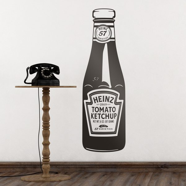 Wall Stickers: Heinz Ketchup