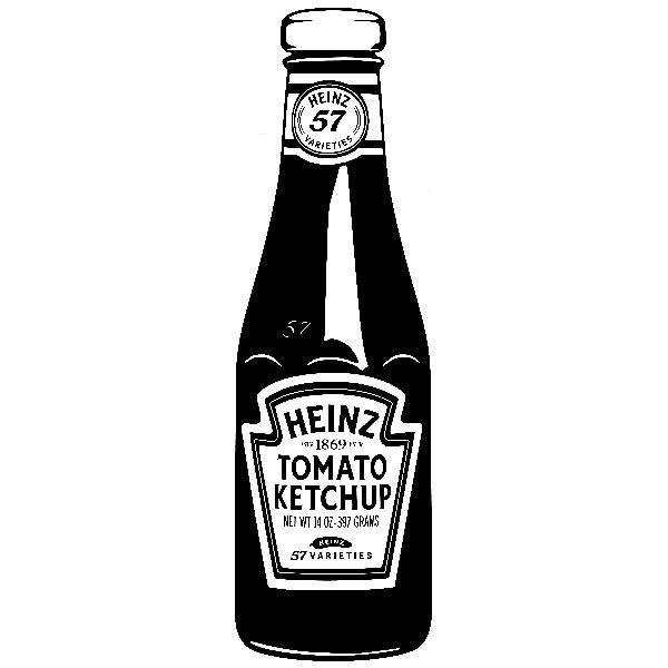 Wall Sticker Heinz Ketchup Muraldecal Com