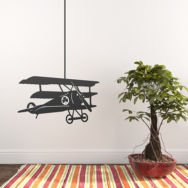 Wall Stickers: Triple plane trebol