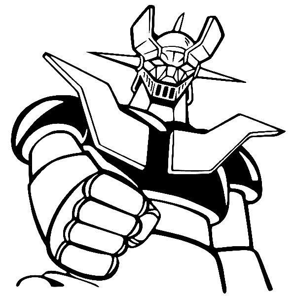 Mazinger Z Coloring Pages | Coloring Pages