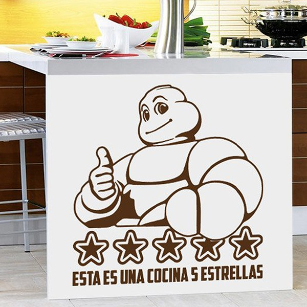 Wall Stickers: This is a 5 Stars Kitchen