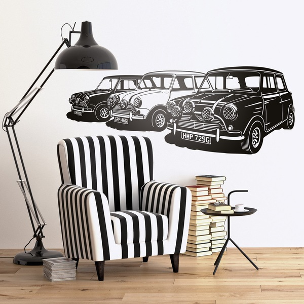 Wall Stickers: Italian Job minis