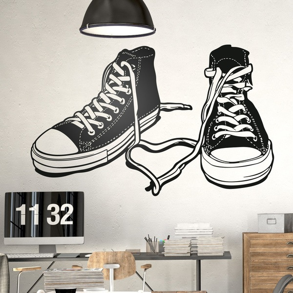 Wall Stickers: Sports boots