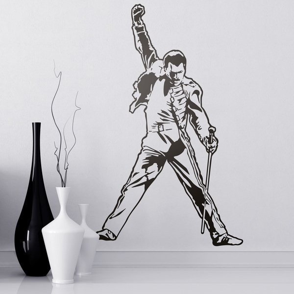 Wall Stickers: Freddie Mercury