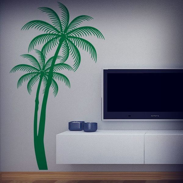 Wall Stickers: Silhouettes of Palms