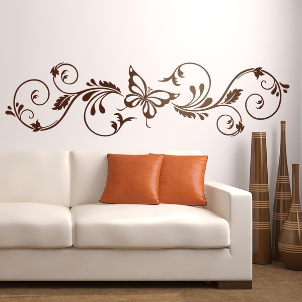 Wall Stickers: Floral Adelfis