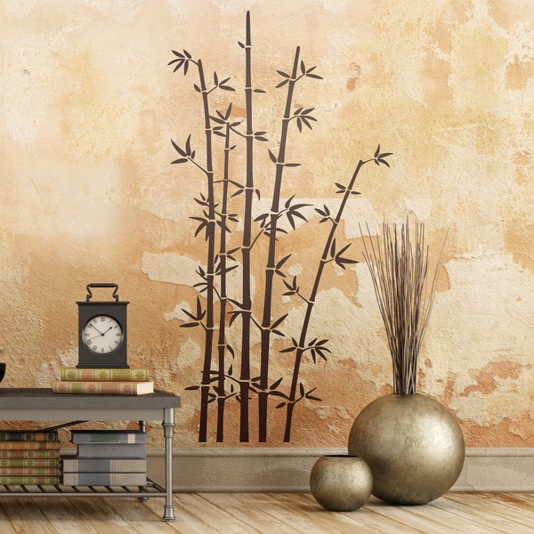 Wall Stickers: Bamboo sticks