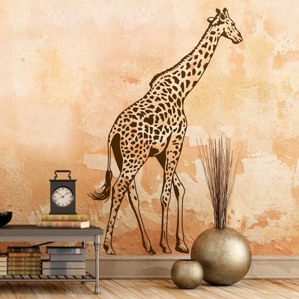 Wall Stickers: Full length giraffe