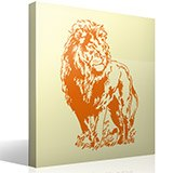 Wall Stickers: Lion 2