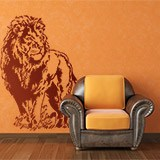 Wall Stickers: Lion 3