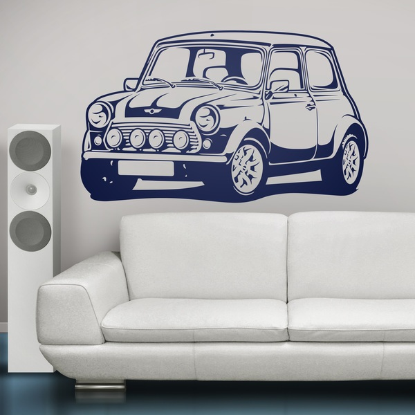 Wall Stickers: Mini Cooper