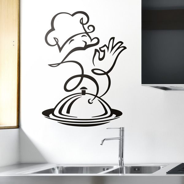 Wall Stickers: Chef Kitchen Delicatessen