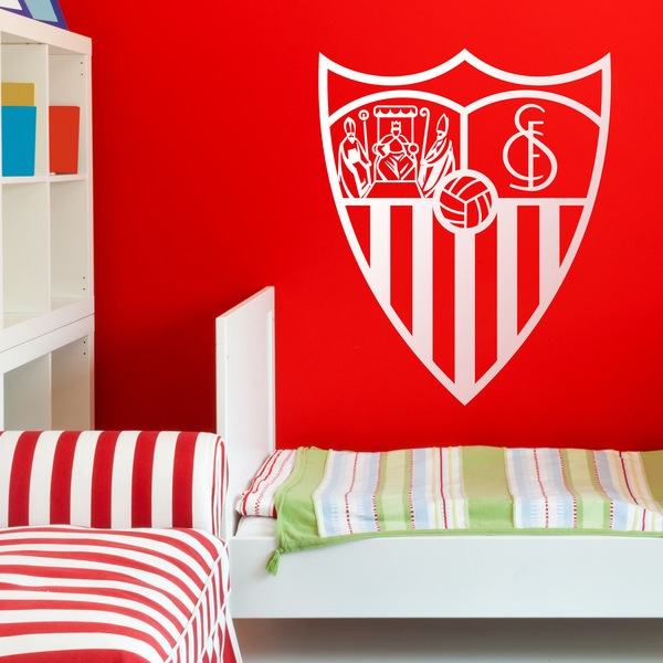 Wall Stickers: Sevilla Fútbol Club Badge